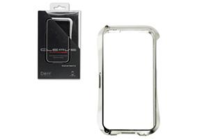 Bumper CLEAVE для iPhone 5 металл/раздвижной (серебро)