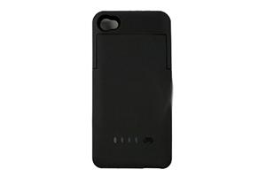 "Доп. АКБ защитная крышка для iPhone 4/4S ""External Battery Case"" 1900mAh (черный)"