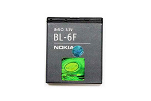 АКБ Nokia BL-6F Li1200 с голограммой EURO 2:2 (старый блистер)