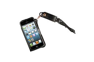 Чехол для iPhone 4/4S со шнурком на шею (черный)