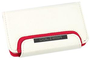 Чехол раскладной органайзер/кошелек на магните для iPhone 4/4S (кожа/белый)