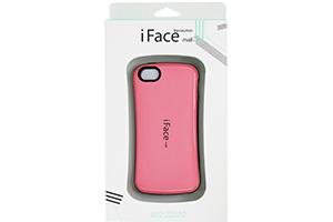 Защитная крышка iFace для iPhone 5/5s (розовый/коробка)
