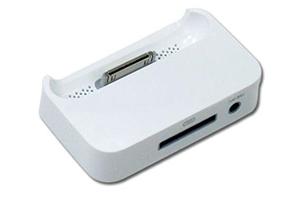 Стакан зарядки External Power Station iPad (RСF-18) (белый) (упаковка блистер)