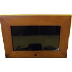 Цифровая фоторамка 7'' DPF-703B (480*234) (светлый орех) 16:9/USB/SD/Аудио/Видео/Встроенная память