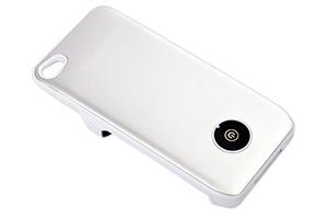 "Доп. АКБ защитная крышка для iPhone 4/4S ""Backup Power Supply"" 1800mA (матовый белый)"