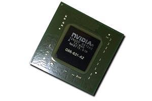 Микросхема nVidia GeForce G86-631-A2 (2010)