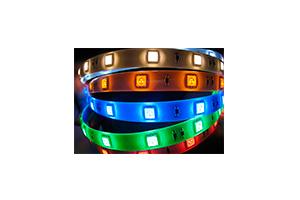 Светодиодная лента 3528/120 на метр/IP44/синий 3528B-60A080 (Катушка 5м)