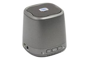 """Колонка беспроводная Bluetooth """"DOGO"""" DG620 серая (3,5+USB+microSD) (коробка)"""