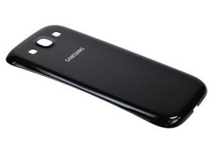 Задняя крышка для Samsung i9300 (черная)
