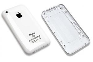 Дополнительная АКБ задняя крышка для iPhone 4/4s 1900mA (белый, блистер)