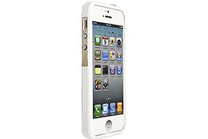 """Защитная крышка для iPhone 4/4S """"LF"""" (белый целиком/блистер)"""