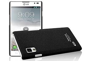 Задняя крышка для LG Optimus L9 (черный)
