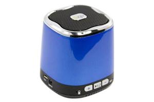 """Колонка беспроводная Bluetooth """"DOGO"""" DG620 синяя (3,5+USB+microSD) (коробка)"""
