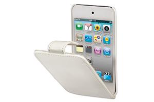 Чехол для iPod Touch 4 раскладной кожа (белый)