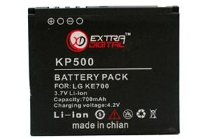 АКБ АЗИЯ LG KP500 Li800 (блистер)