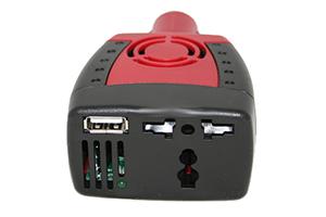 Универсальный Автомобильный Инвертер (DY-150) 12 на 220 Вольт/USB/150 Ватт (блистер)