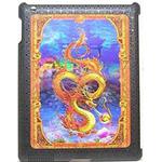 """Защитная крышка для iPad 2 """"3D дракон"""" (пластик)"""