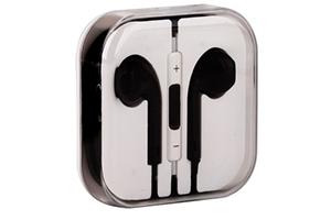 Наушники для iPhone 5/iPad mini/iPad и совместимые (черные/коробка)
