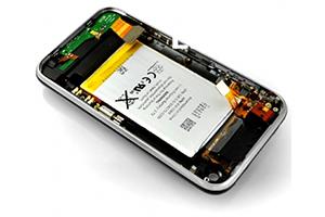 Корпус для iPhone 3G 16Gb (шлейфом наушников, шлейфом зарядки, аккумулятором) (черный) Оригинал