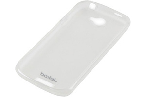 Силиконовый чехол для HTC one s TPU Case (белый матовый)
