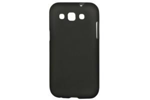 Силиконовый чехол для Samsung i8552 TPU Case (черный матовый)