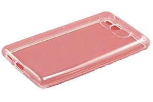 Силиконовый чехол на Nokia Lumia 820 TPU Case (белый прозрачный)