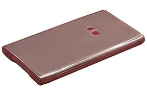 Силиконовый чехол на Nokia Lumia 920 TPU Case (черный матовый)