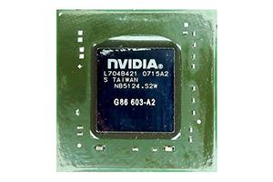Микросхема nVidia GeForce G86-603-A2