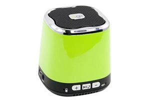 "Колонка беспроводная Bluetooth ""DOGO"" DG620 зеленая (3,5+USB+microSD) (коробка)"
