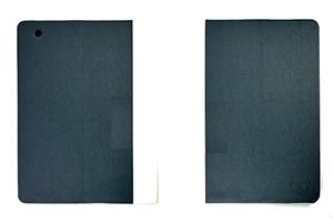 """Чехол для iPad 2/3/4 """"OZAKI"""" iCoat раскладной кожа (серый/белый)"""