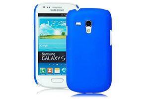 Задняя крышка для Samsung i8190 (синяя)