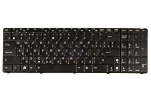 Клавиатура для Asus P50 K50 K60 K61 K62 K70 K70IJ F90 X5D X51 с рамкой (чёрная)