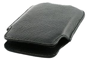 Чехол/футляр для iPhone 3G/3GS/4/4S кожа (черный)