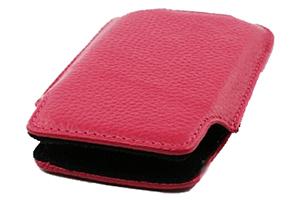 Чехол/футляр для iPhone 3G/3GS/4/4S кожа (розовый)