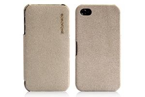 "Чехол для iPhone 4/4S ""BOROFONE"" BI-L010 Pilot leather case раскладной кожа"