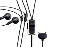 """Гарнитура для мобильного телефона """"LP"""" Nokia 6101 (вакуумные) разъем """"лопатка"""""""