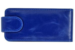 Чехол для Nokia 700 раскладной (кожа/синий)
