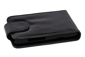 Чехол для Nokia 710 раскладной (кожа/черный)