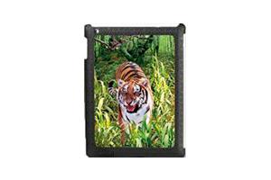 "Защитная крышка для iPad 2 ""3D тигр"" (пластик)"