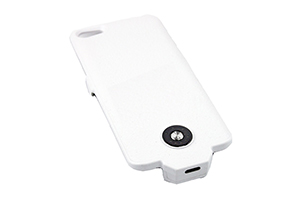 "Доп. АКБ защитная крышка для iPhone 5/5s ""Power Cases"" 3000mA (белый матовый)"
