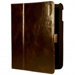 Чехол/книжка для iPad 2 IPAD.1127 с замком (кожа, темно коричневый)