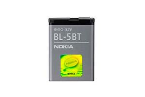 АКБ Nokia BL-5BT Li870 с голограммой EURO 2:2 (2600C)
