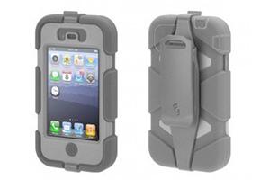Чехол Griffin Survivor для iPhone 4/4S (серый)
