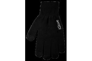 """Перчатки """"iGlove"""" для сенсорных экранов Черные/3 пальца/M (коробка)"""