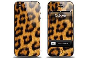 "iPhone Skin ""Орнамент Леопард"""