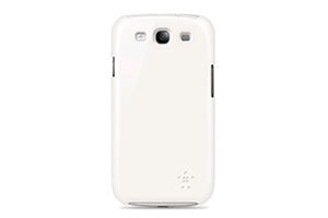 Защитная крышка Belkin для Samsung Galaxy S3 i9300 (F8M402CWC03) (белый)