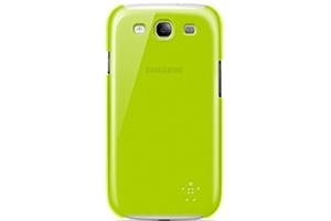 Защитная крышка Belkin для Samsung Galaxy S3 i9300 (F8M403CWC02) (зеленый матовый)