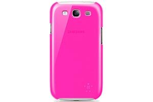 Защитная крышка Belkin для Samsung Galaxy S3 i9300 (F8M403CWC03) (розовый)