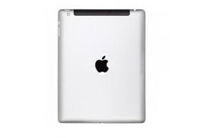 Задняя крышка для iPad 2 64Gb 3G+WiFi (серебро)
