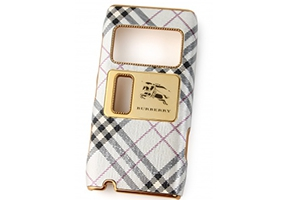 Защитная крышка для Nokia N8 Burberry (Светлая клетка ш) (упаковка прозрачный бокс)